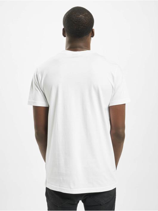 Mister Tee T-Shirt Fuck Off blanc
