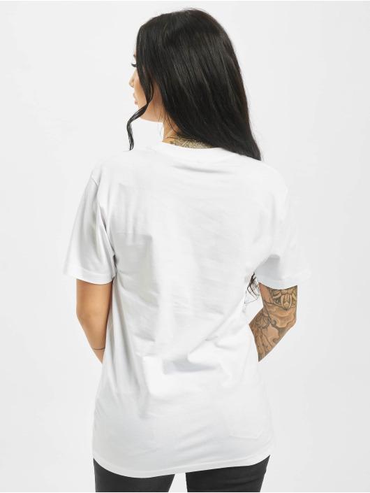 Mister Tee T-Shirt Moth blanc