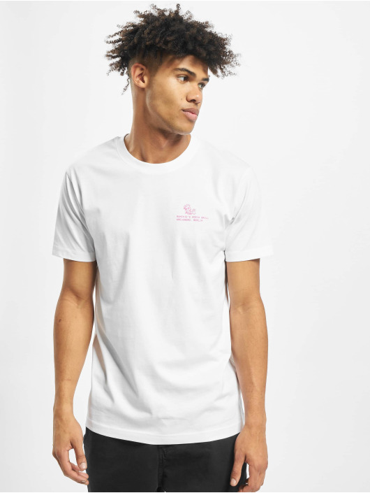 Mister Tee T-Shirt Adria Grill blanc