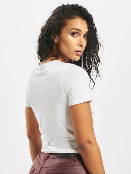 Mister Tee T-Shirt Broken Dreams Cropped blanc