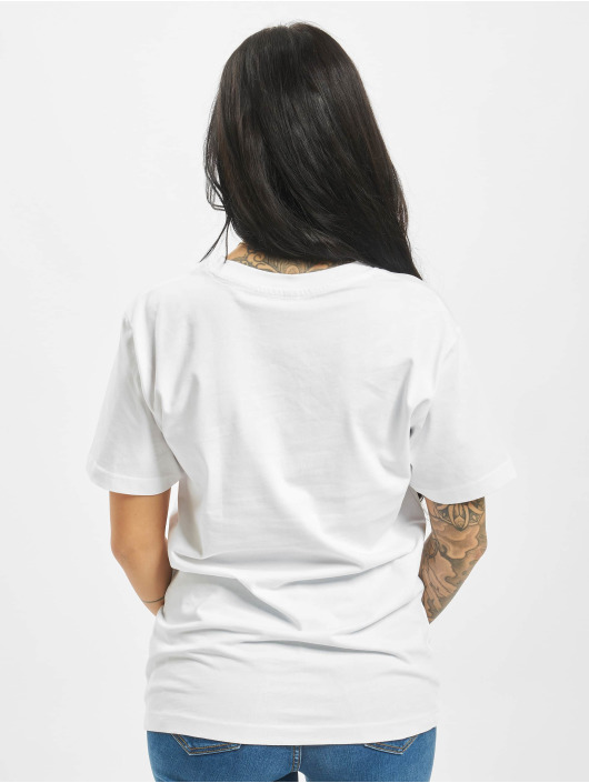 Mister Tee T-Shirt Go Slow blanc