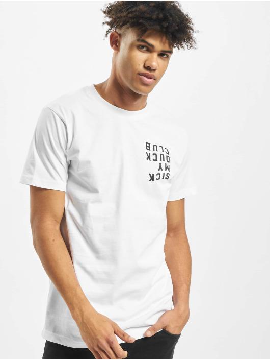 Mister Tee T-Shirt Sicky Duck Club blanc
