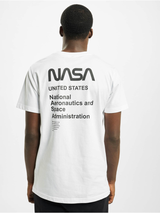 Mister Tee T-Shirt Nasa Moon Landing Tee blanc