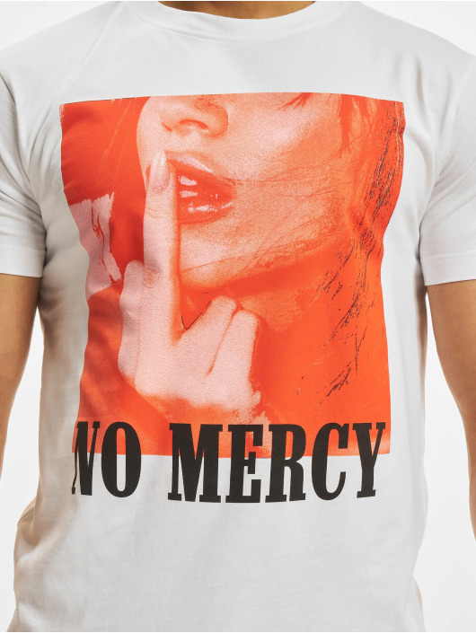 Mister Tee T-Shirt No Mercy blanc