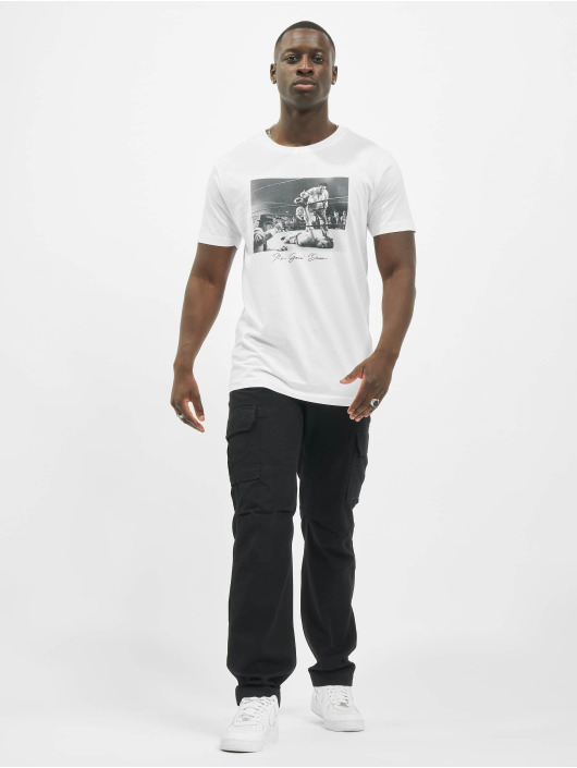 Mister Tee T-Shirt Going Down blanc