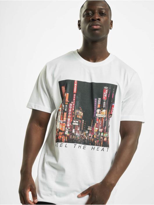 Mister Tee T-Shirt Feel The Heat blanc