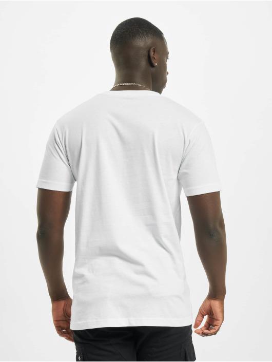 Mister Tee T-Shirt Wonderful blanc