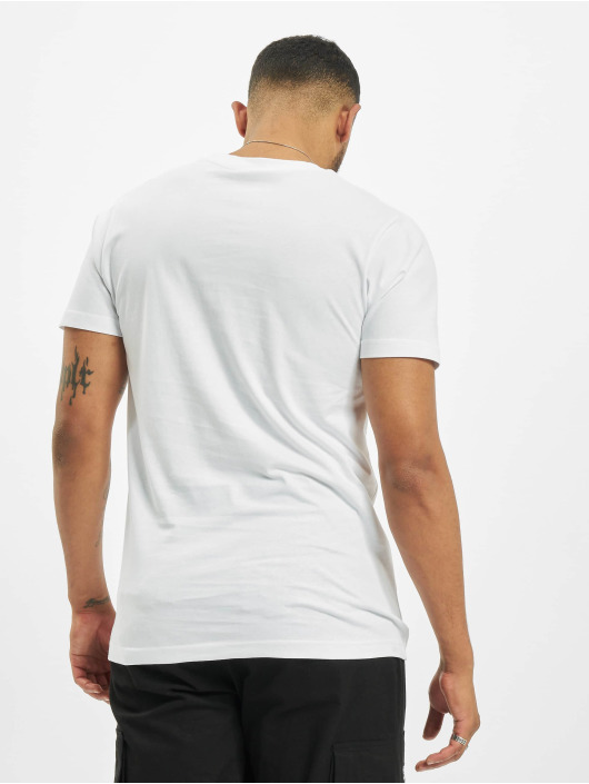 Mister Tee T-Shirt Raised By The Streets blanc