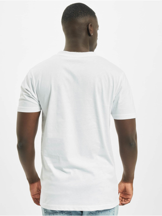 Mister Tee T-Shirt Nasa Globe blanc