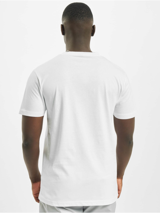 Mister Tee T-Shirt Shiny Off blanc