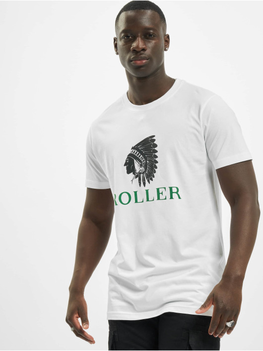 Mister Tee T-Shirt Tee Roller Indianer blanc