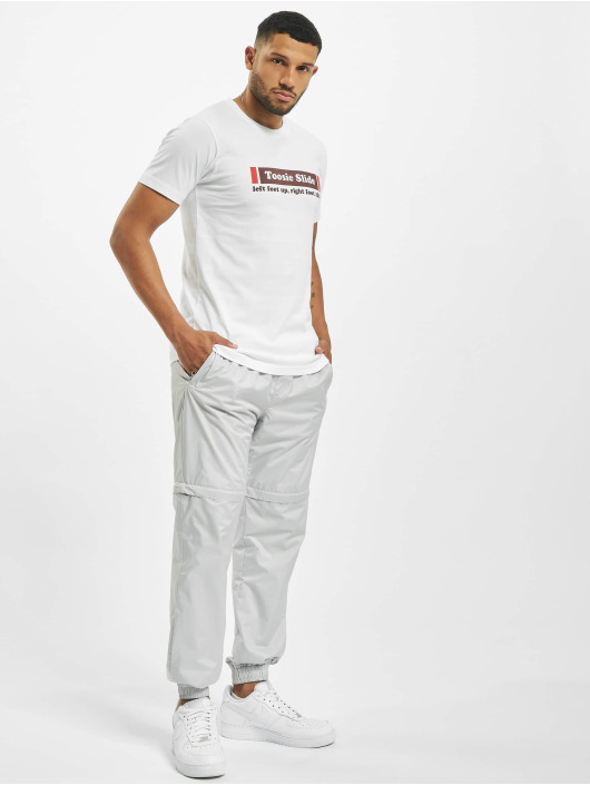 Mister Tee T-Shirt Toosie Slide blanc