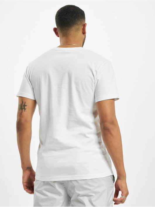 Mister Tee T-Shirt Pray Emb blanc
