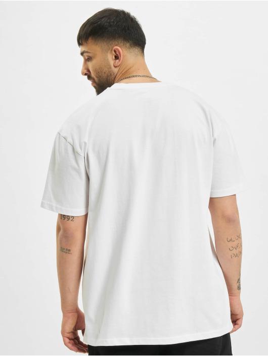 Mister Tee T-Shirt Pray Painting Oversize blanc