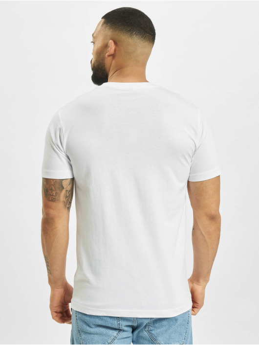 Mister Tee T-Shirt Off Emb blanc
