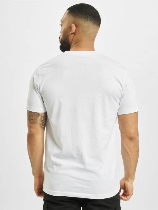 Mister Tee T-Shirt Sunday Service blanc