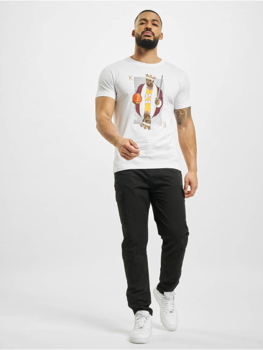 Mister Tee T-Shirt King James La blanc