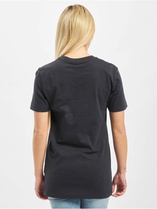 Mister Tee T-Shirt Ladies Exhale blau