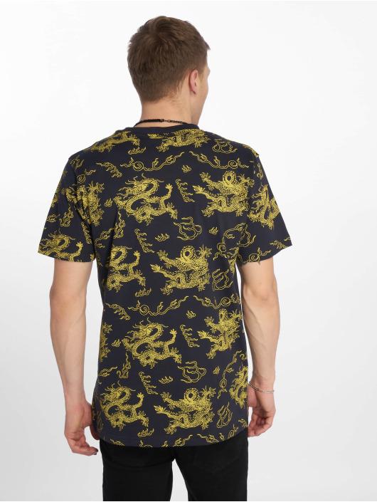 Mister Tee T-Shirt Dragon bleu