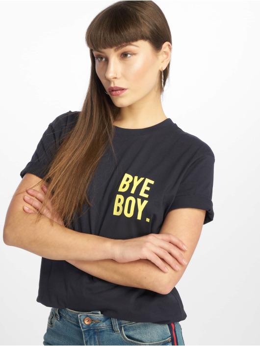 Mister Tee T-Shirt Bye Boy bleu