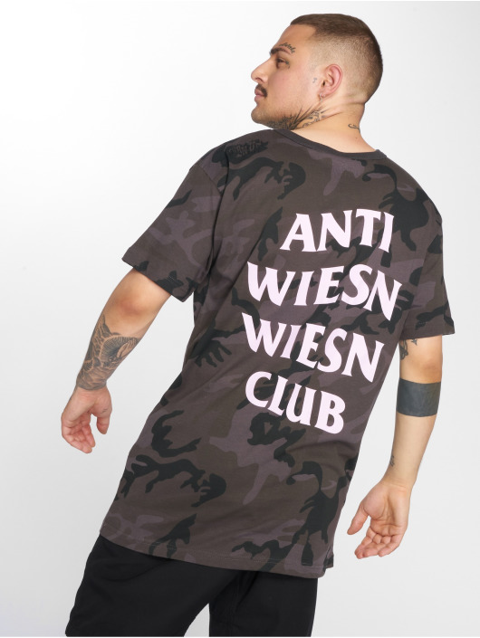 Mister Tee T-Shirt Wiesn Club camouflage