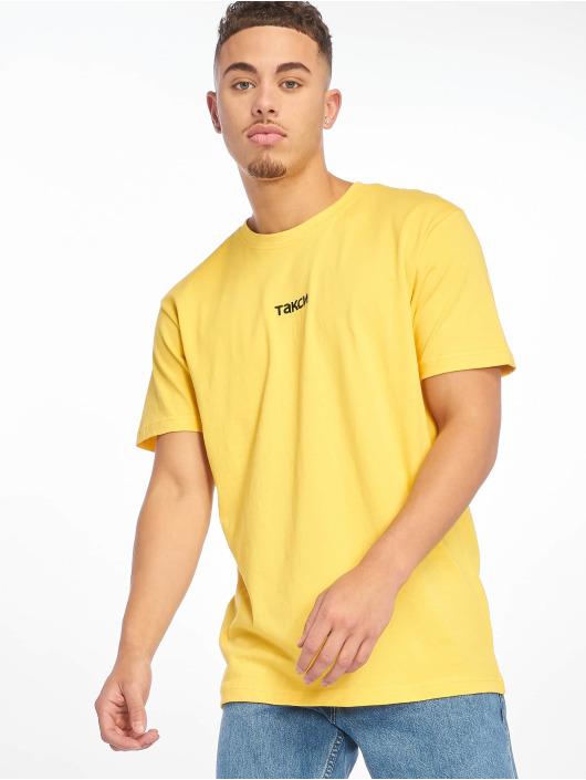 Mister Tee T-Shirt Taxi gelb