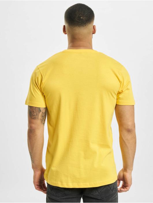 Mister Tee T-shirt Pray giallo