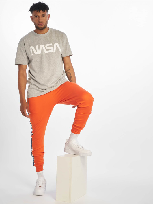 Mister Tee t-shirt Nasa Heavy Oversized grijs