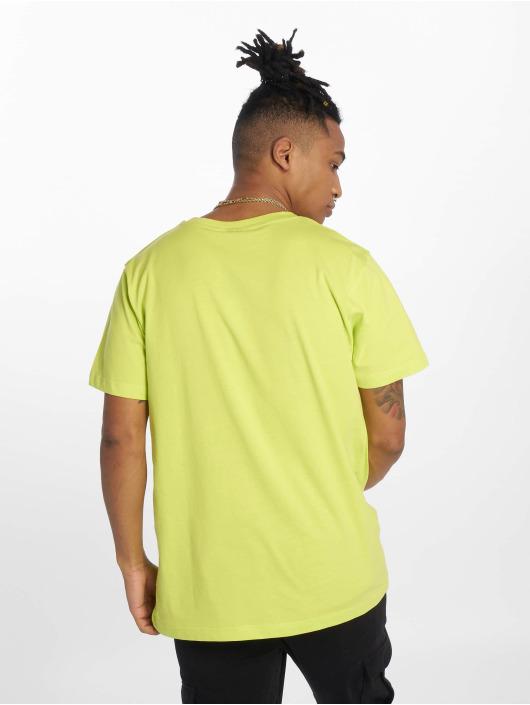 Mister Tee T-Shirt Konichiwa jaune