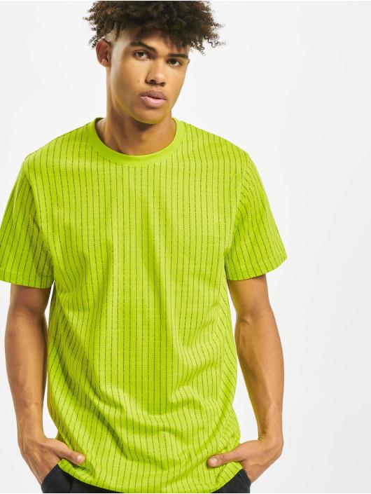 Mister Tee T-Shirt Fuckyou jaune