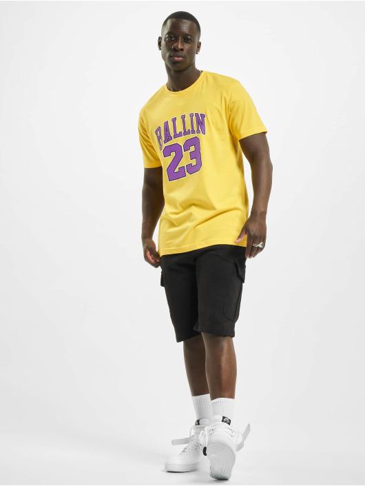 Mister Tee T-Shirt Ballin 23 jaune