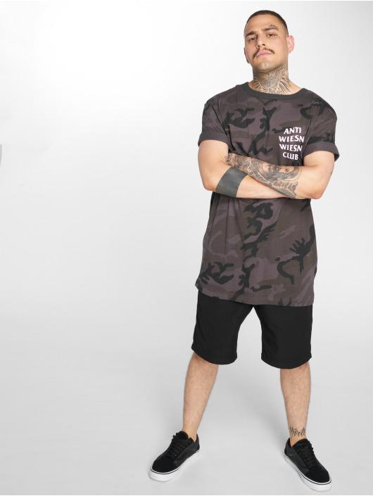 Mister Tee T-shirt Wiesn Club kamouflage