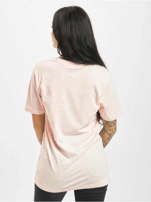 Mister Tee T-Shirt Long Beach magenta
