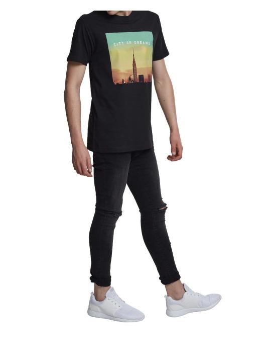 Mister Tee T-shirt City of Dreams nero