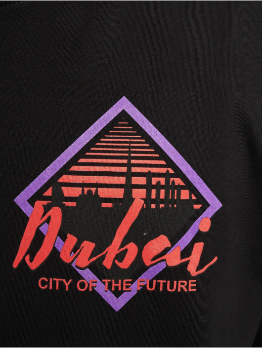 Mister Tee T-shirt City Of The Future nero