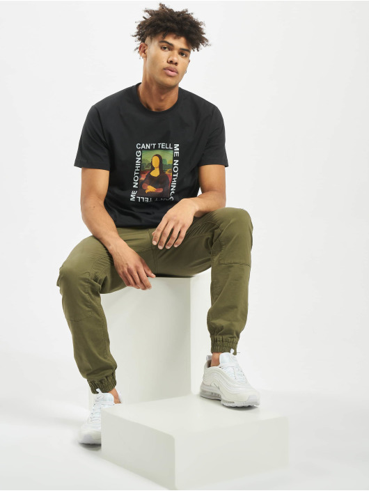 Mister Tee T-shirt Can´t Tell Me Nothing nero