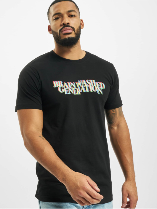 Mister Tee T-shirt Brainwashed Generation nero