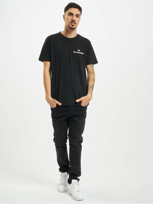 Mister Tee T-shirt No New Friends nero