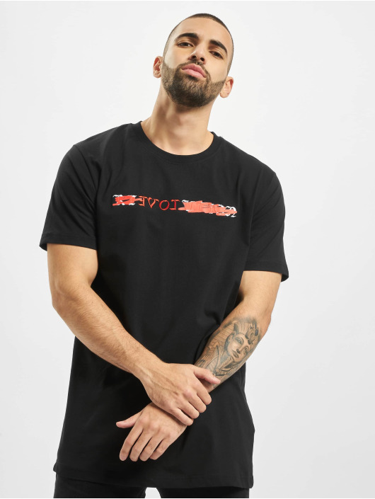 Mister Tee T-shirt Reloveaution nero