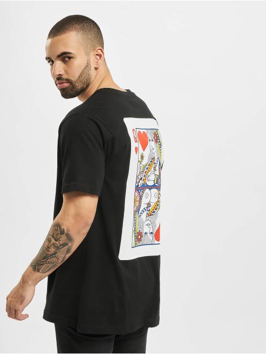 Mister Tee T-shirt Love Card nero