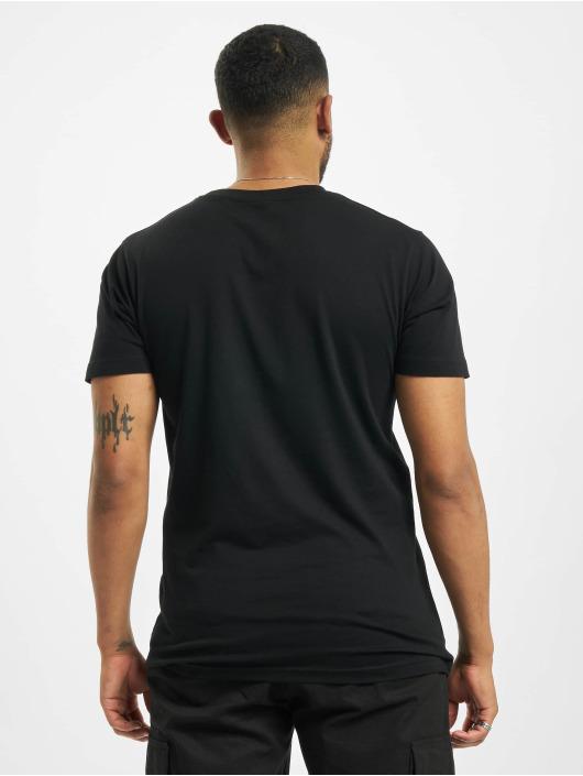 Mister Tee T-shirt Swipe Up nero
