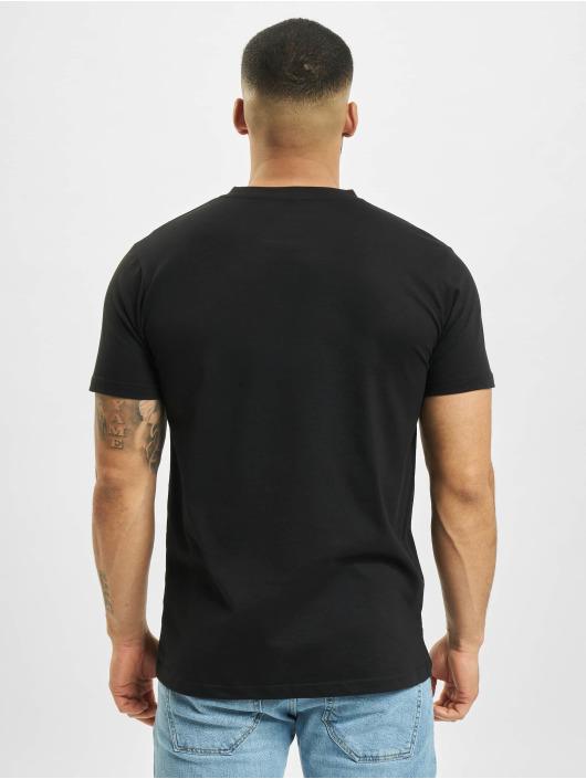 Mister Tee T-shirt Pizza Moon Landing nero