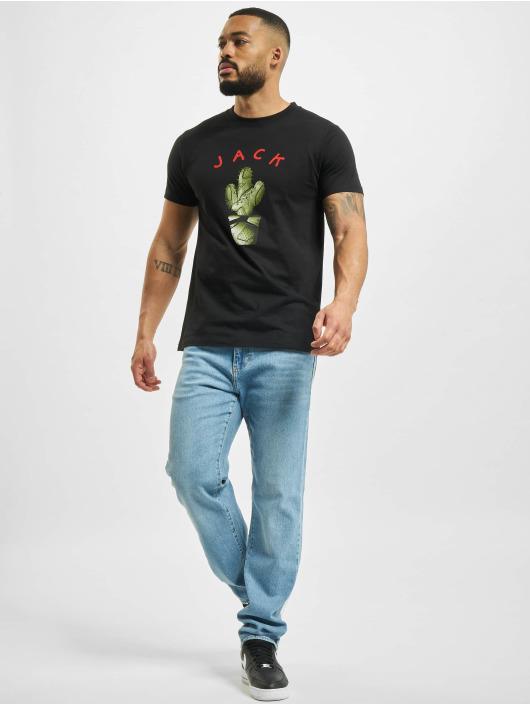 Mister Tee T-shirt Jack nero