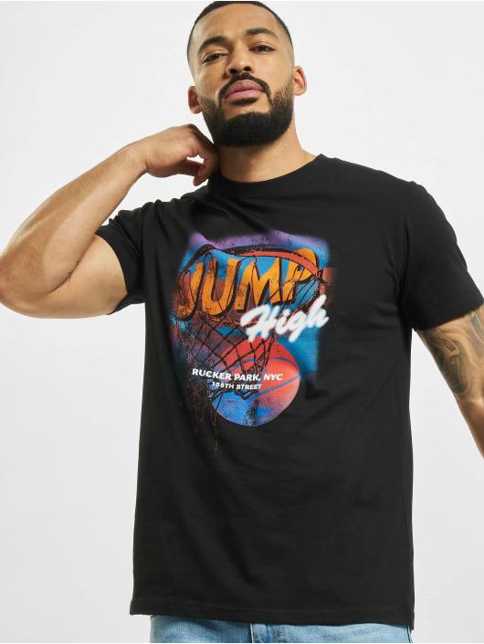 Mister Tee T-shirt Jump High nero