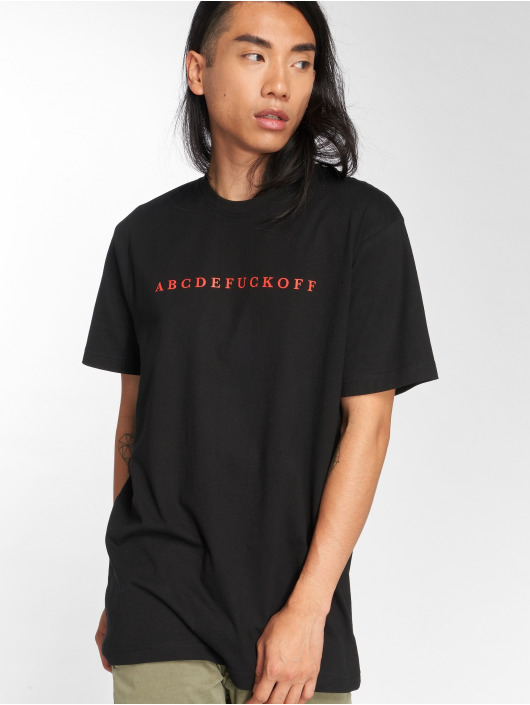 Mister Tee T-Shirt ABC noir