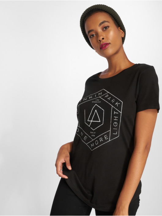 Mister Tee T-Shirt Ladies Linkin Park Oml Fit noir