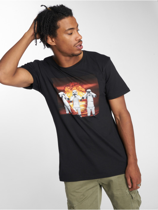 Mister Tee T-Shirt Stormtrooper Nuclear noir