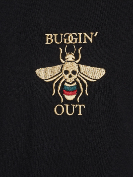 Mister Tee T-Shirt Buggin' Out noir