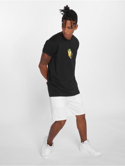 Mister Tee T-Shirt Müppe Skate noir