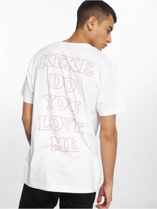 Mister Tee T-Shirt Keke Rose noir